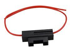 Porte-fusible socle pour fusibles plats 19mm midi 3A  0.5mm2 pour 6V 12V 24V 36V