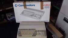 RARE VINTAGE COMMODORE AMIGA A500 COMPUTER SYSTEM (VGC BOXED)