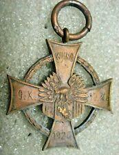 /Poland Polish Medal Cross WILNO,LITWA SRODKOWA 1920