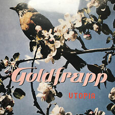 GOLDFRAPP - UTOPIA * 12 INCH VINYL * FREE P&P UK * 12 MUTE 253 * ORIGINAL * NEW