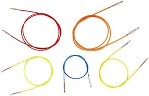 Knit Pro Colour Cables to fit interchangeable needles for circular knitting