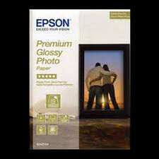EPSON PREMIUM GLOSSY PHOTO PAPER 7x5 (18x13cm) 50 SHTS NEXT DAY DELIVERY S041875