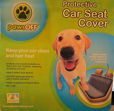 PawsOff PROTECTIVE CAR BACK SEAT COVER - BLACK