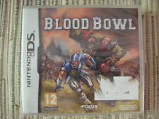 NINTENDO DS BLOOD BOWL BLOODBOWL GAMES WORKSHOP NUEVO