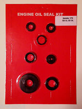 Honda CB175 Oil Seal Kit! CL175 CD175 SL175 1968 1969 1970 1971 1972 1973 New!