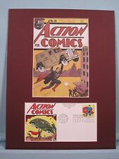 DC Comic Book Hero Superman & First Day Cover