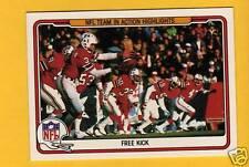 1982 Fleer MOSI TATUPU RICH CAMARILLO New England Patriots Rare Card