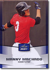 "Manny Machado 2012 Foglia Schizzi "" Blu Parallel "" Rookie Card! Baltimore"