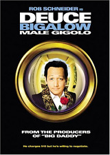 Deuce Bigalow Male Gigolo [DVD, NEW] FREE SHIPPING