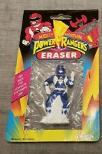 Blue Power Rangers Eraser *SEALED 1993 - New in Package
