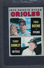 1970 Topps #121 Orioles Rookie Stars Beene/Crowley EX/MT *7950