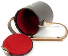 Leather Lens Case 62x60mm for ZEISS Pancolar 1.8/50mm BIOTAR Flektogon 2.4/35mm