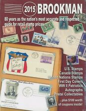 2015 Brookman US Canada UN Stamps Covers Autographs Retail Price Guide Spiral