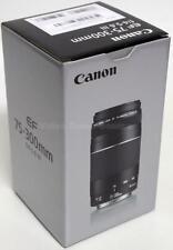 CANON EF 75-300MM F/4-5.6 III OBJEKTIV SCHWARZ LENS