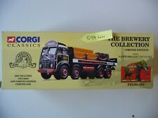 NEW Corgi Brewery 12401 Foden Flatbed Lorry with Barrels and Crates - Fremlins.