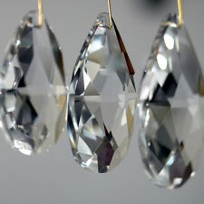 10Pcs Clear Chandelier Glass Pendant Crystal Lamp Prism Part Hanging Drop Decor