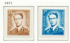 [150872] SUP  **/Mnh    - N° 1574/75, 2,50F et 7F type marchand (lunette), fond