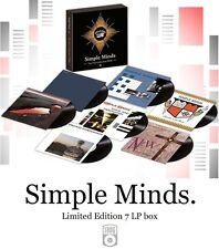 SIMPLE MINDS - VINYL COLLECTION - 180 G. Ltd.Ed. 1979-1984 (7 LP BOX) REMASTERED