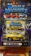 Muscle Machines '69 Camaro jaune (9960)