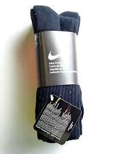 NIKE Wertige 3 Paar Herren Socken Strümpfe Größe 42-46 Schwarz