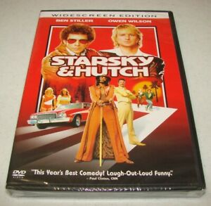 Starsky  Hutch (DVD, 2004, Widescreen) Ben Stiller & Owen Wilson New Unopened