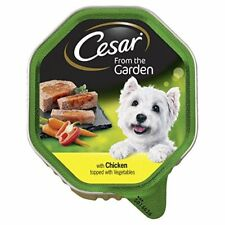 Cesar Select Toppings Chicken & Veg 14 x 150g Wet Dog Food