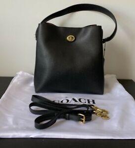 Pre-owned COACH  Charlie Bucket Bag Black