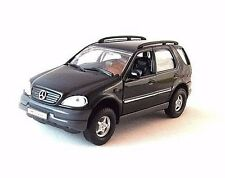 MERCEDES-BENZ M-CLASS BLACK WELLY 1/32 DIECAST CAR MODEL, CAR COLLECTOR'S MODEL