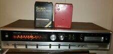 Vintage Realistic 8 Track Player And Radio Tested!