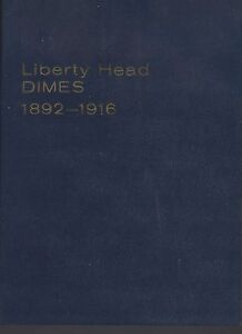 Barber1892-1916  Dimes Meghrig Gem album NOS NO COINS