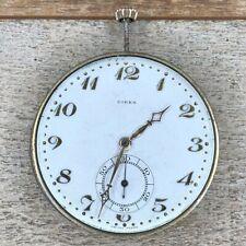 Movado Birks Pocket Watch Movement - 40mm Dial - 15 Jewels, 2 Adjustments