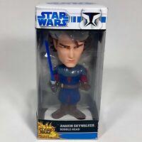 RARE Funko Anakin Skywalker Clone Wars Bobble head, in Box - Wacky Wobblers