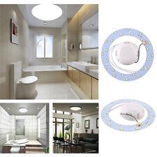 12W 24 LED Panel Circle Annular Practical Ceiling Light Lamp 220V Pure White
