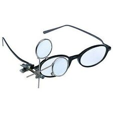 Clip On Magnifying Loupe for Glasses Eye Eyeglasses Attachment Magnifier Lens