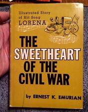 Signed Confederate 1864 The Sweetheart of the Civil War Vintage Book LORENA