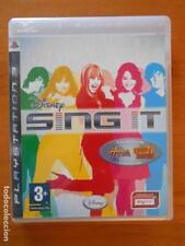 PS3 DISNEY SING IT - PLAYSTATION 3 - HANNAH MONTANA, CAMP ROCK - VERSION ESPAÑA