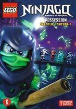 LEGO NINJAGO SPINJITZU - COMPLETE SEASON 5  -  DVD - PAL Region 2