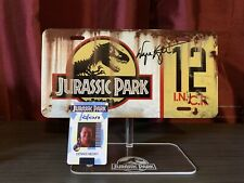 Autographed JURASSIC PARK Wayne Knight signed license Plate Authentic COA