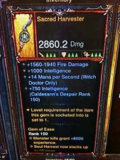 Diablo 3 Primal antike Heilige geerntet zeremonielle Messer Patch 2.6 Xbox One