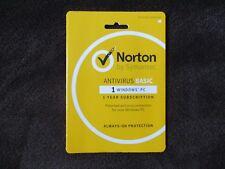 Norton Antivirus Basic Antivirus (1 PC) - Windows PC-Download Code-Free Shipping