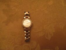 Women's Rose Gold Fossil Crystallized Watch AM4508 VG COND W/FOSSIL BAND