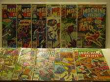 MACHINE MAN - MARVEL - 11 BOOKS - JACK KIRBY - FREE SHIPPING