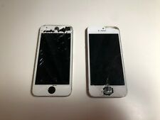 Two Apple iPhone 5s Space Gray A1533 - iC Locked - For Parts Only