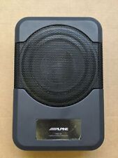 """Alpine 8"""" Single-Voice-Coil Loaded Subwoofer Enclosure ONLY"""