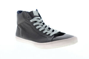 Aldo Hawksley Mens Gray Suede High Top Lace Up Lifestyle Sneakers Shoes
