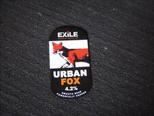 URBAN FOX, EXILE Exmoor ales ,,pump clip face New