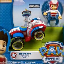Nickelodeon PAW PATROL RYDER'S RESCUE ATV Quad Rider Poseable Kid Figure Ride 3+