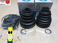 Inner & Outer CV Axle Boot  Kit for Toyota 4Runner 1996-2002  4X4 4WD SR5