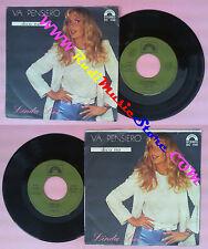 LP 45 7'' LINDA LEE Va pensiero Dico no 1980 italy CINEVOX SC 1142 no cd mc dvd