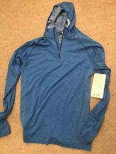 Lululemon Mens Metal Vent Tech Hoodie Size Small Blue